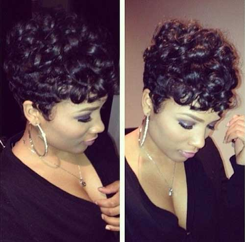 15 Easy Hairstyles For Short Curly Hair Short Hairstyles 2016