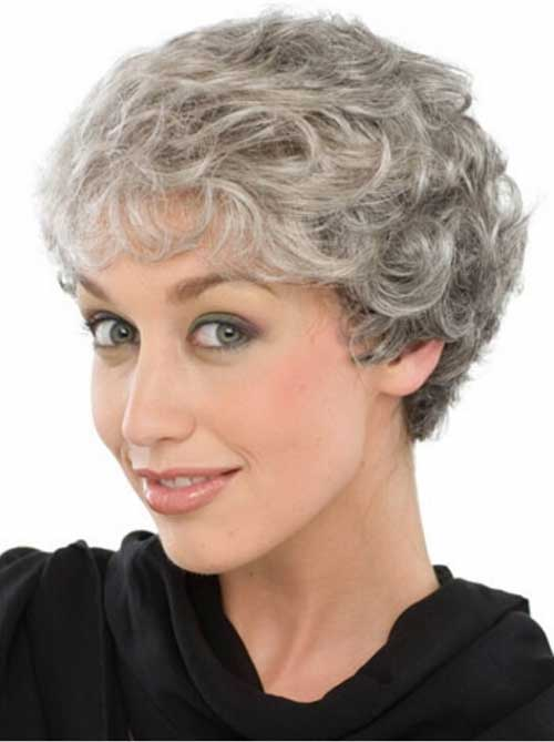 15 Hairstyles For Short Grey Hair Short Hairstyles 2016 2017