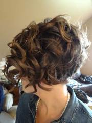 short haircuts curly thick