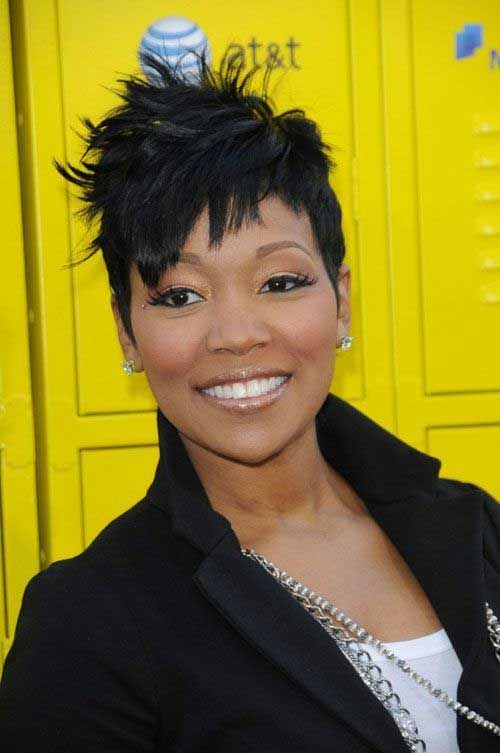 Short Haircuts For Black Women Over 40  Short Hairstyles 2017  2018  Most Popular Short