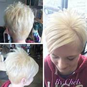 short hairstyles fine straight
