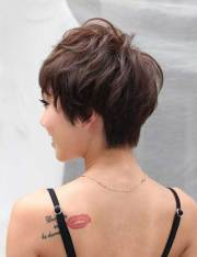 wedge hairstyles short hair