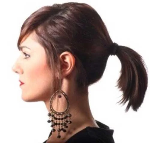 Ponytail Styles For Short Hair Short Hairstyles 2016 2017
