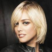 short hairstyles thin straight