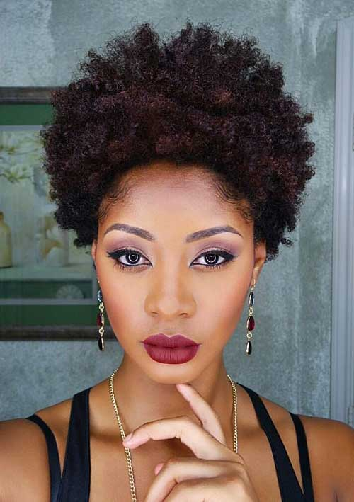 15 Best Short Natural Hairstyles for Black Women