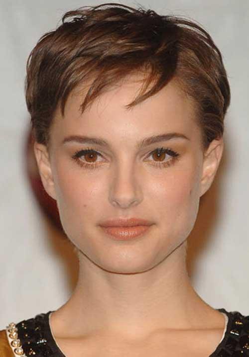 Natalie Portman Cute Pixie Cut