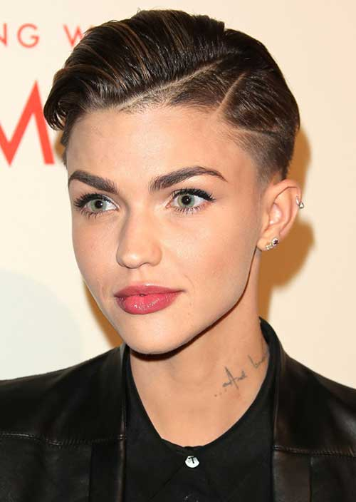 Ruby Rose Shaved Pixie