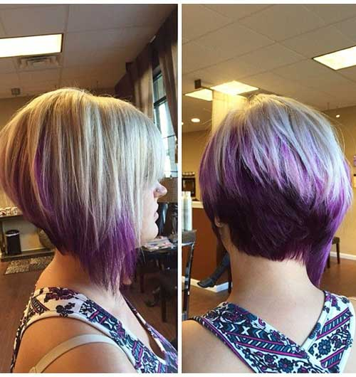 20 Best Angled Bob Hairstyles Short Hairstyles 2016 2017