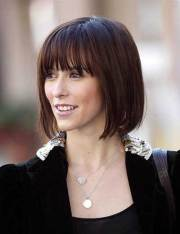 chic bob hairstyles with bangs