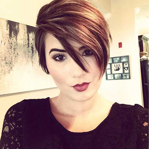 30 Long Pixie Cut Pictures Short Hairstyles 2017 2018
