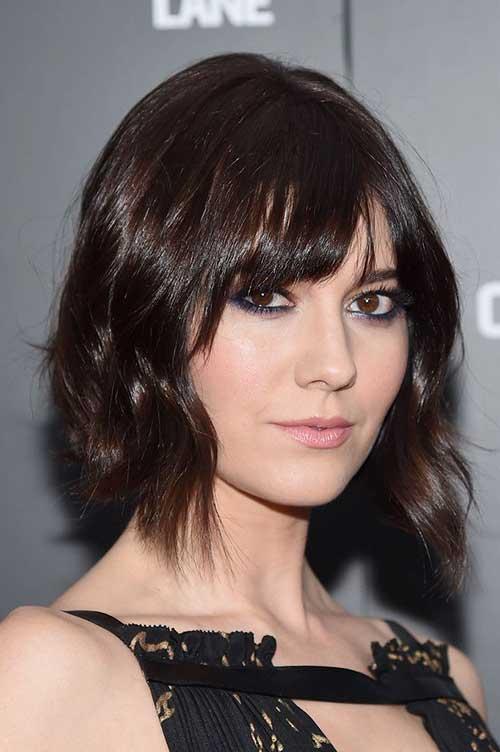 Mary Elizabeth Short Hairstyle
