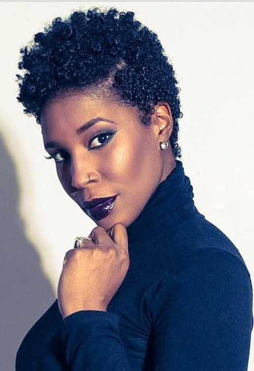 15 Best Short Natural Hairstyles For Black Women Short