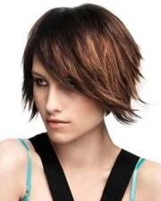 popular layered short haircuts