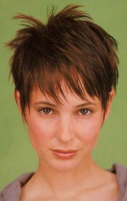 Pixie Haircuts For Fine Hair Short Hairstyles 2016 2017 Most