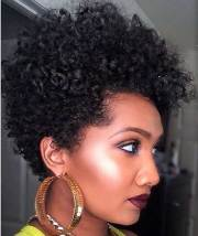 cute short natural hairstyles