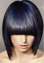 dark bob hairstyles short