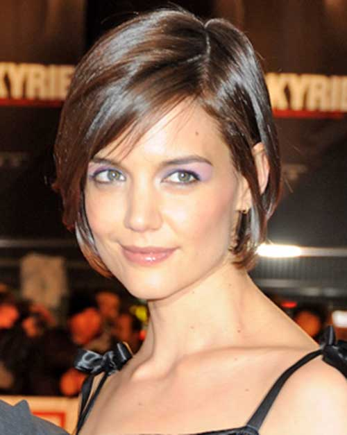 Good Katie Holmes Bob Haircuts Short Hairstyles 2017 2018 Most