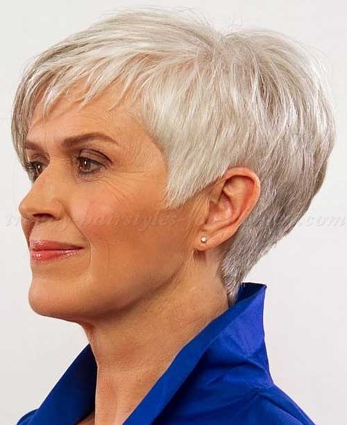 14 Short Hairstyles For Gray Hair Short Hairstyles 2016 2017