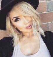 blonde short hair hairstyles