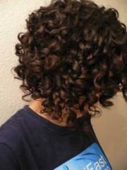 good short natural curly haircuts