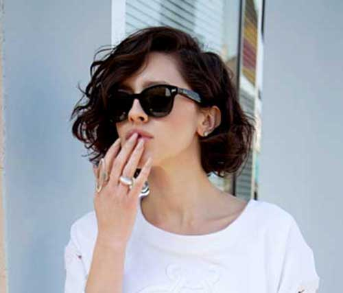 15 Best Short Haircuts For Brunettes Short Hairstyles 2016