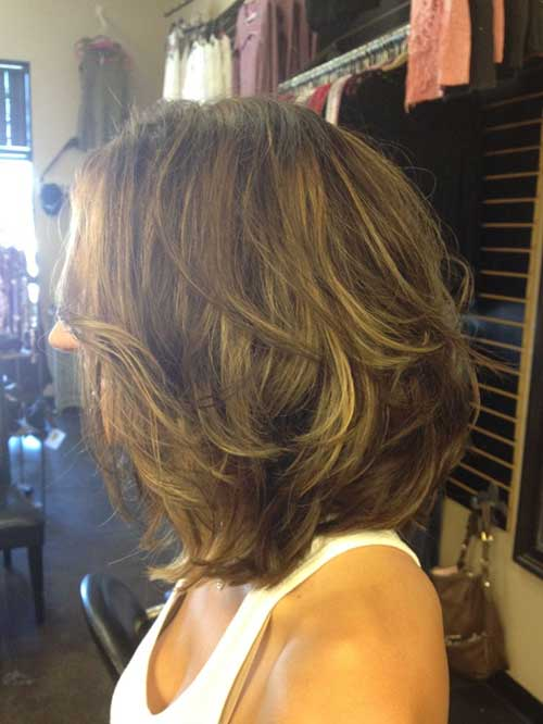 Short Shoulder Length Thick Straight Haircut