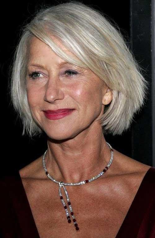 Best Bob Hairstyles for Older Women
