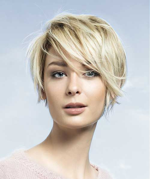 Beloved Short Haircuts For Women With Round Faces Short