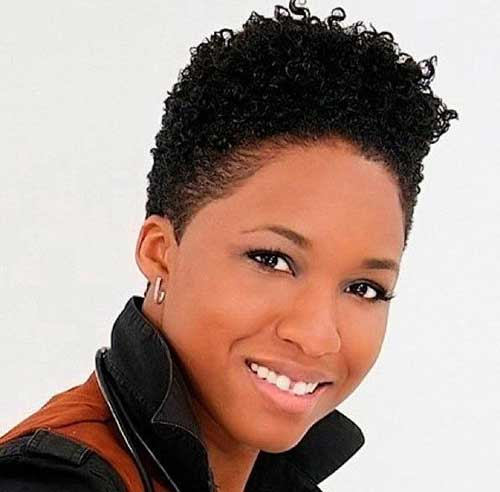 15 Short Natural Haircuts For Black Women Short Hairstyles 2016