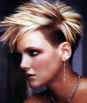 punky short haircuts
