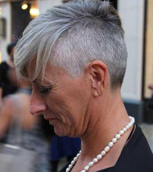 Short Grey Hair Pics