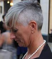 short grey hair pics hairstyles