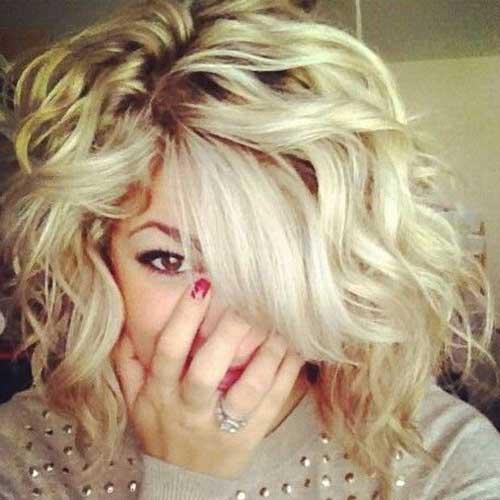 16 Short Medium Curly Hairstyles Crazyforus