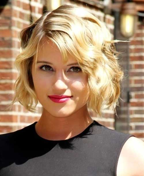 10 Short Wavy Hairstyles For Round Faces Short Hairstyles 2016