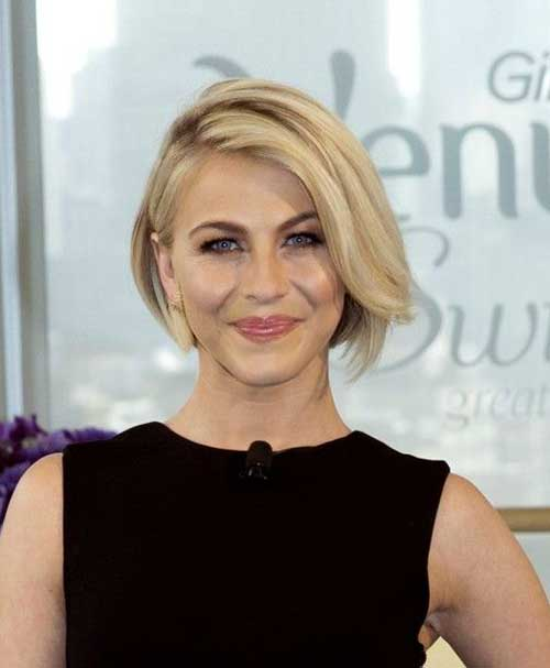 Julianne Hough with Short Hair