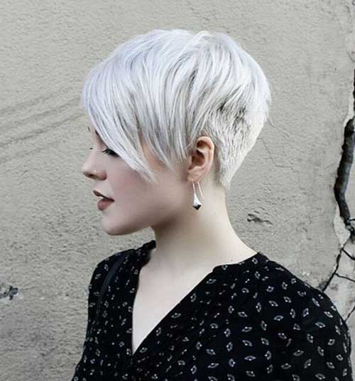 Really Trendy Asymmetrical Pixie Cut  Short Hairstyles