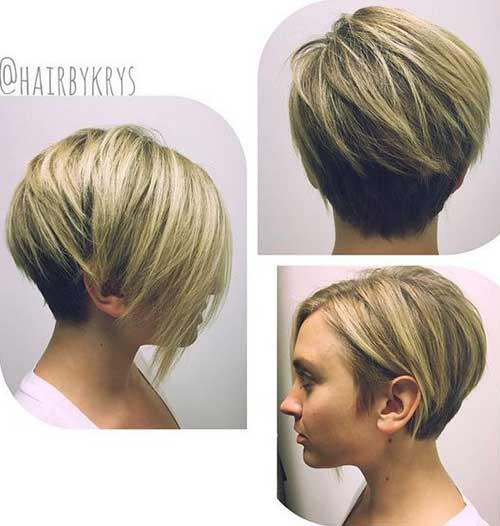 Short Hair Ideas For Round Face Short Hairstyles 2016 2017
