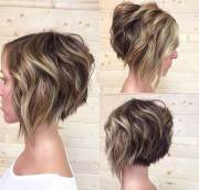 stacked bob haircuts short