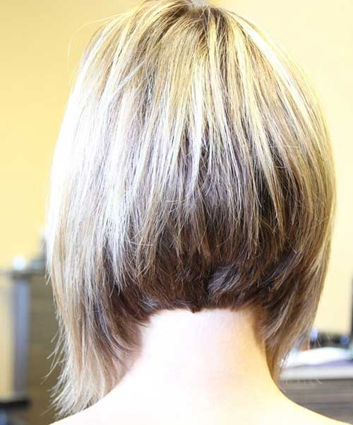 15 Best Back View Of Bob Haircuts Short Hairstyles 2016 2017