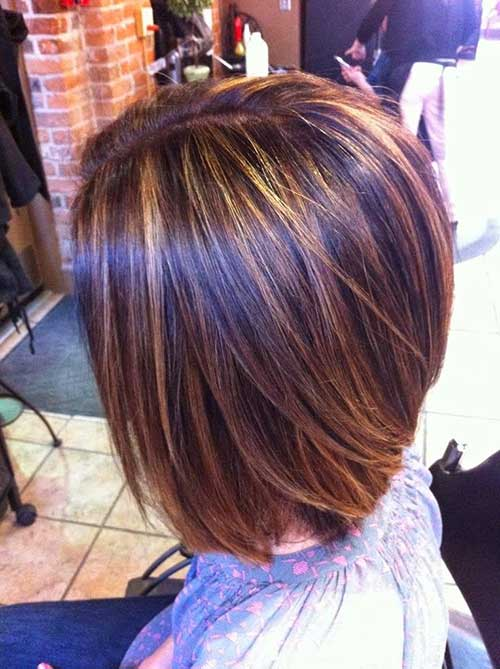 15 Best Back View Of Bob Haircuts  Short Hairstyles 2017
