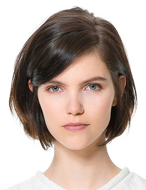 Best Short Hairstyles for Thick Straight Hair  Short Hairstyles 2017  2018  Most Popular