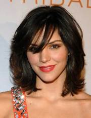 short thick wavy hairstyles