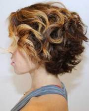 short thick curly hairstyles