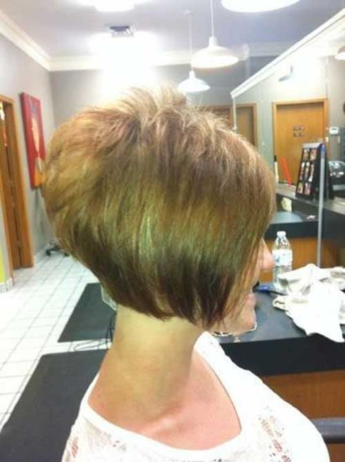 Popular Stacked Bob Haircut Pictures