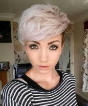 cool asymmetrical pixie