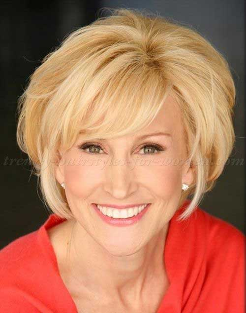 Short Layered Hairstyles For Women Over 50 Page 1