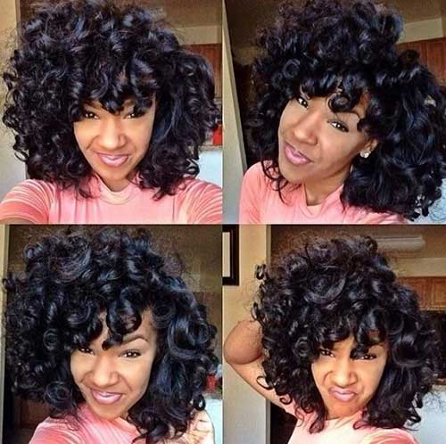 15 New Short Curly Weave Hairstyles Short Hairstyles 2016 2017