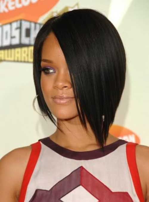 Best Rihanna Bob Hairstyle