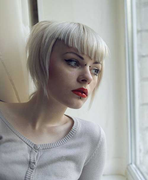 Most Beloved Short Haircuts with Bangs  Short Hairstyles