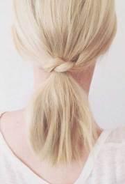 cute simple hairstyles short